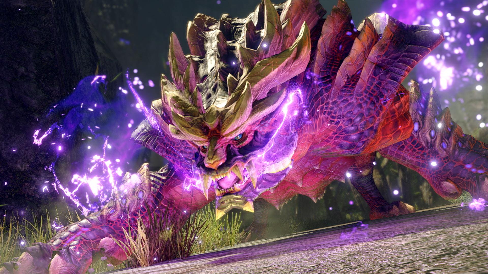Monster Hunter Rise - electric