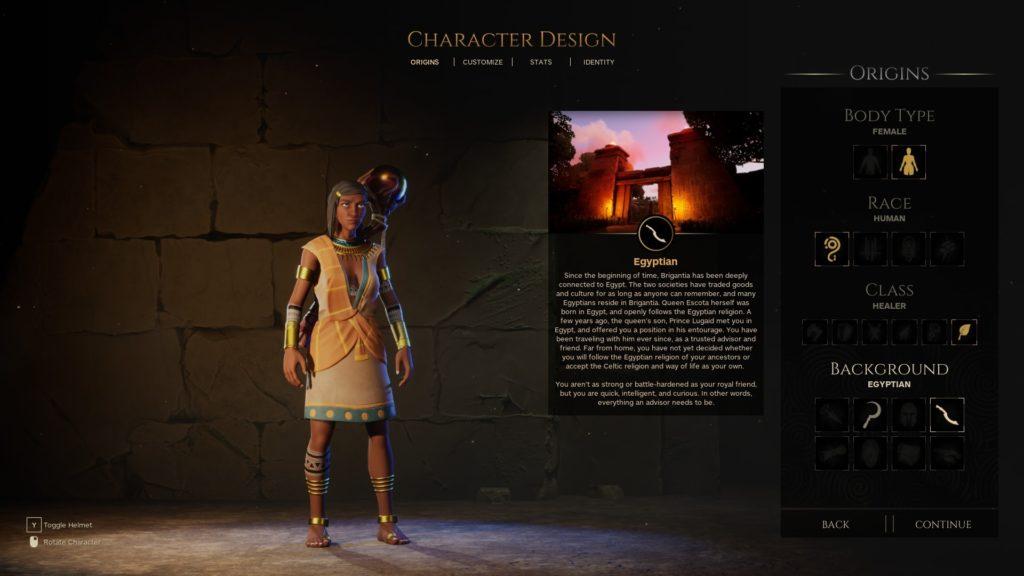 Waylanders - Egyptian origin