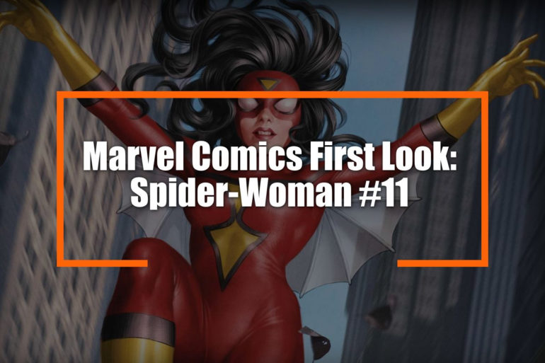 Spider Woman 11 Feature