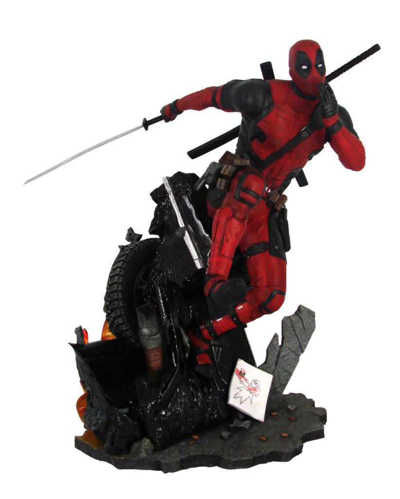 Walmart exclusive Deadpool PVC diorama by Diamond Select.