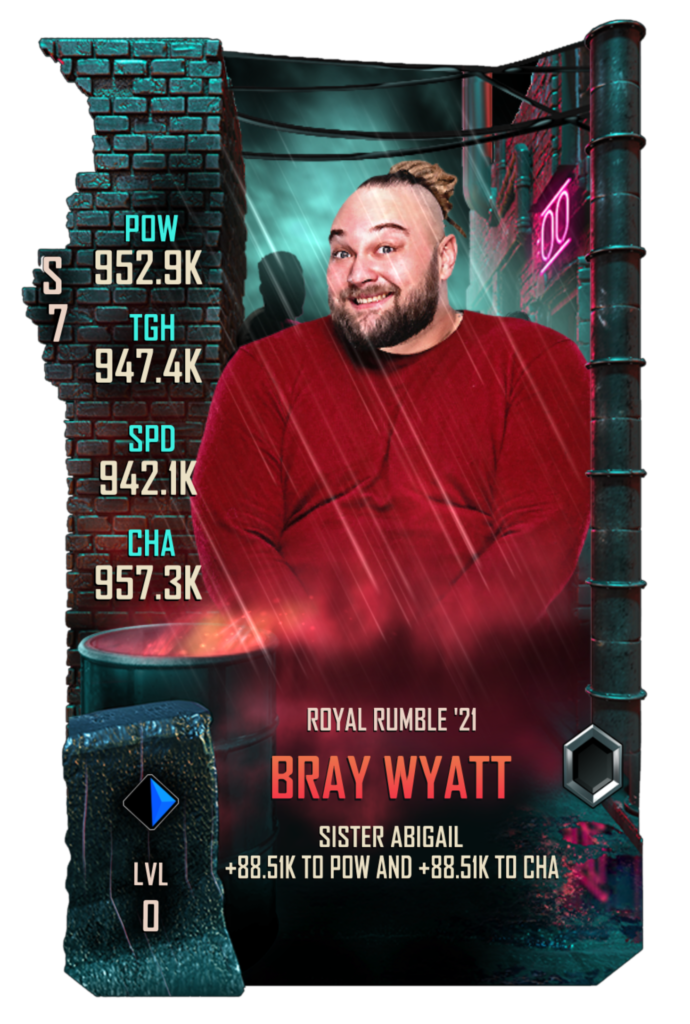 WWESC S7 Bray Wyatt Royal Rumble