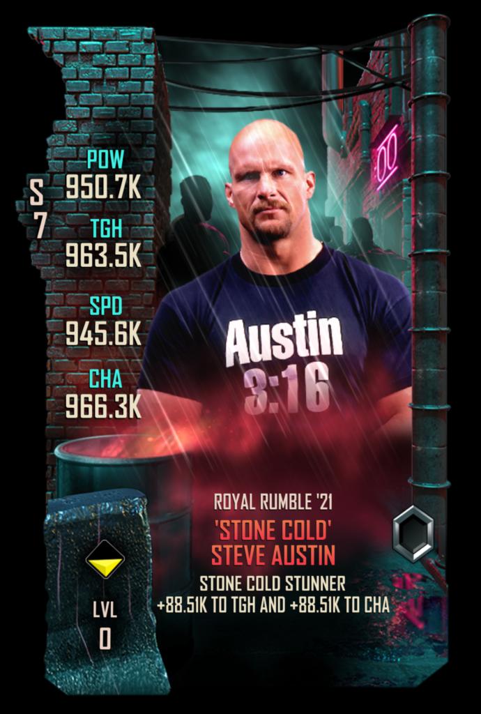 WWESC S7 Steve Austin Royal Rumble