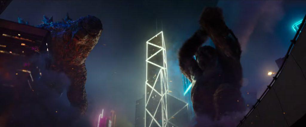 Godzilla vs. Kong - city fight