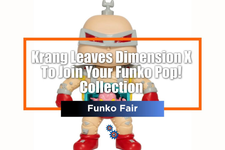 Krang Funko Fair Feature