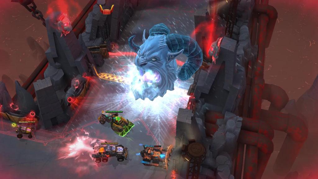 Heavy Metal Machines - gameplay