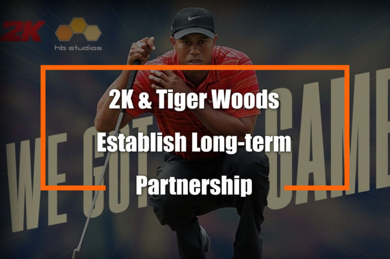 Tiger Woods 2K Partnership Feature