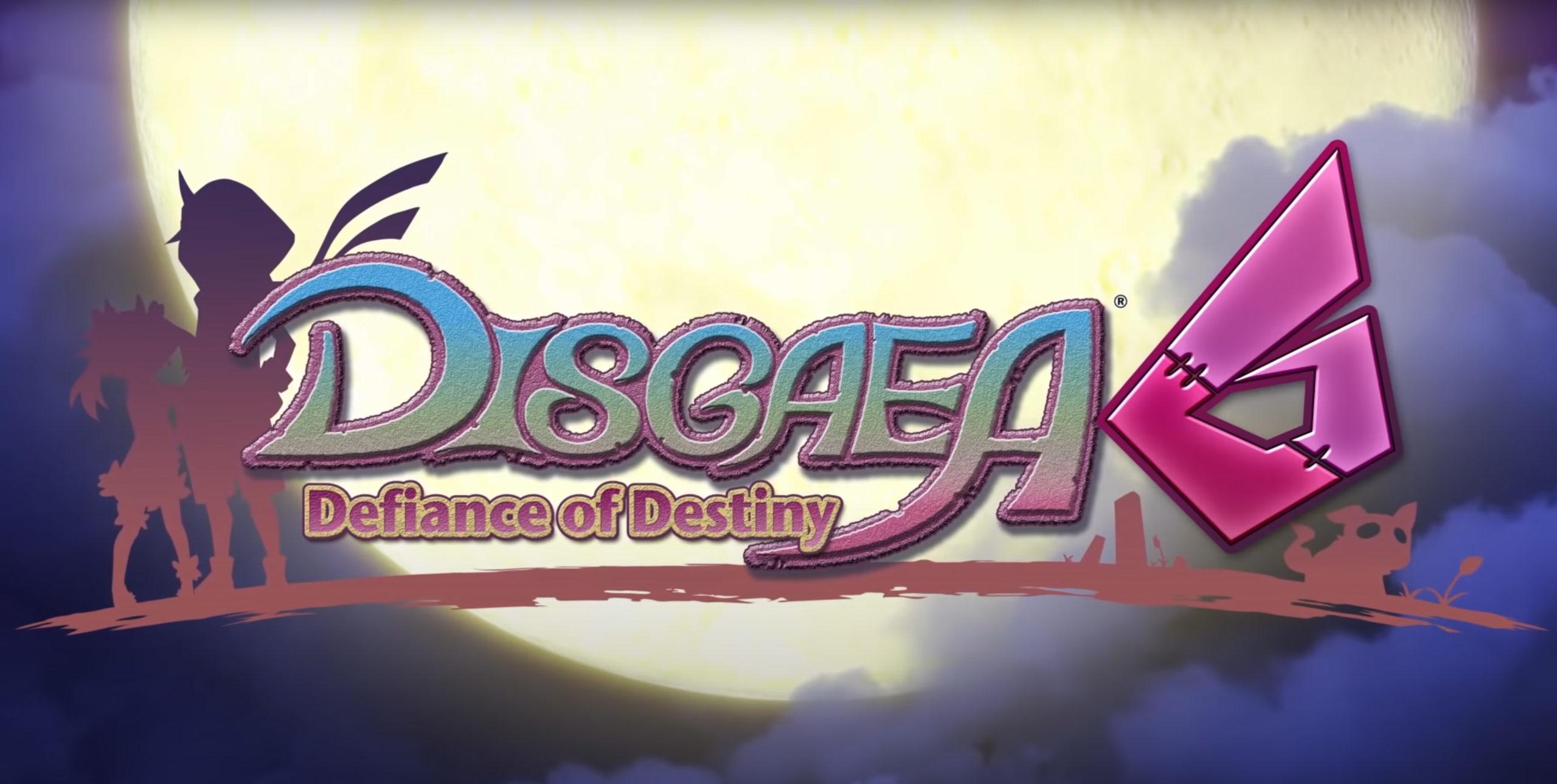 Disgaea 6 - cover