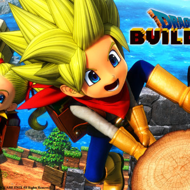 Dragon Quest Builders 2 - key art