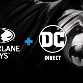 McFarlane Toys x DC Direct Promo Art