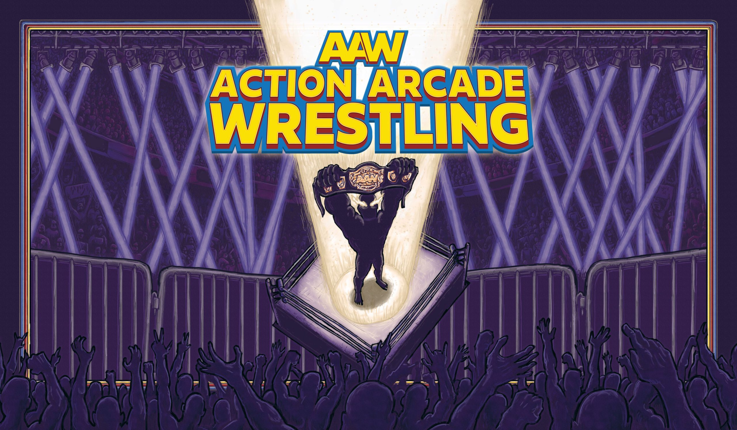 Action Arcade Wrestling - logo