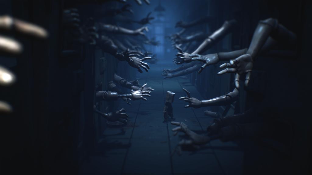 Little Nightmares II - horror hands