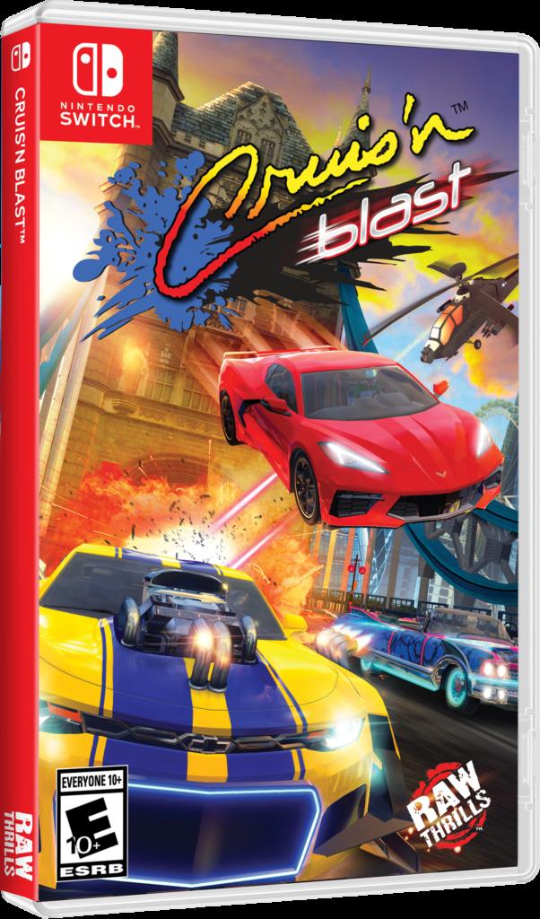 Cruis'n Blast - physical