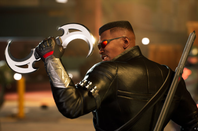 Marvel's Midnight Suns - Blade catches glaive