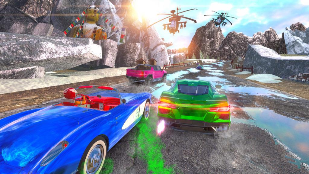 Cruis'n Blast - race