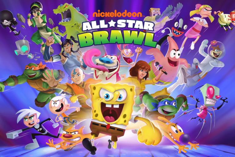 NIckelodeon All-Star Brawl - cover