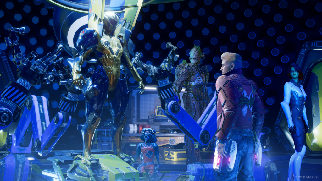 Marvel's Guardians of the Galaxy - encounter